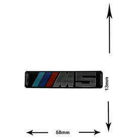 BMW BMW  - M5 - 3D Sticker  -