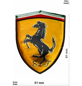 Ferrari Ferrari - 3D Sticker - Wappen - BIG