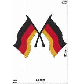 Germany 2 Deutschland Fahnen - Flaggen
