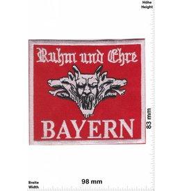Germany BAYERN - Ruhm und Ehre - red