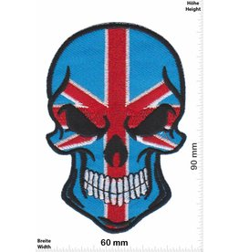 England Totenkopf  - UK - Union Jack