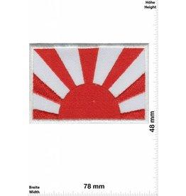 Japan Kyokujitsuki - half - Flagge der aufgehenden Sonne - Rising Sun Flag - Flag