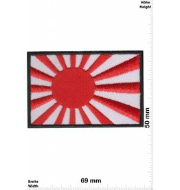 Japan Kyokujitsuki - Flagge der aufgehenden Sonne - Rising Sun Flag - japanische Militärflagge - Flag