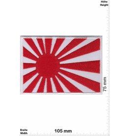 Japan Kyokujitsuki - Flagge der aufgehenden Sonne - BIG - weiss - Rising Sun Flag