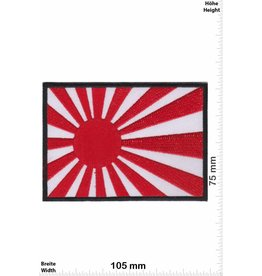Japan Kyokujitsuki - Flagge der aufgehenden Sonne  - BIG - schwarz - Rising Sun Flag