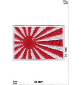 Japan 2 Stück ! Flagge - Kyokujitsuki - Flagge der aufgehenden Sonne - klein