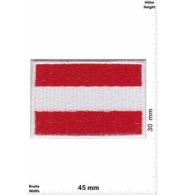 Austria 2 Stück ! Flagge  Österreich - Austria - klein