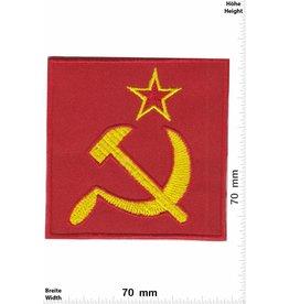 Russia Flagge - Sowjetunion -Soviet Union- Hammer und Sichel