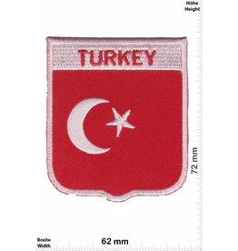 Turkey Turkey Wappen - Flagge - Türkei