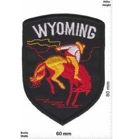 USA Wyoming - schwarz
