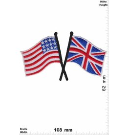 USA USA - UK - United Kingdom - Flaggen