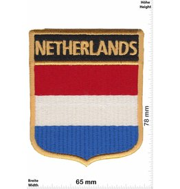 Netherland Holland - Netherland- Wappen  - Flagge
