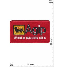 Agip Agip World Racing Oils - red - small