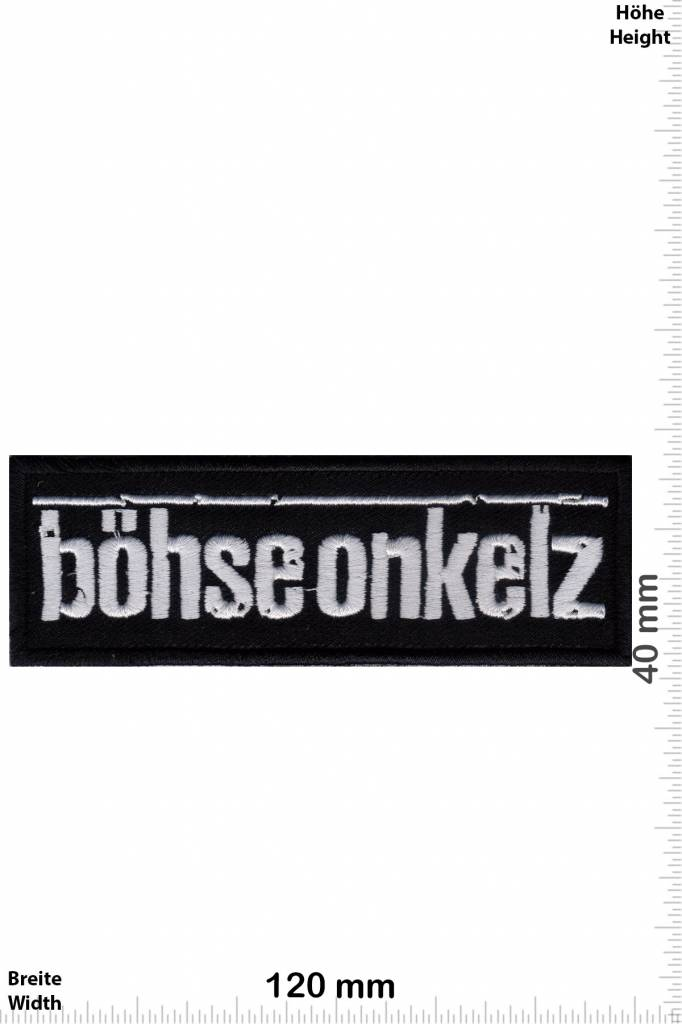 b hse onkelz patch back patches patch keychains. Black Bedroom Furniture Sets. Home Design Ideas