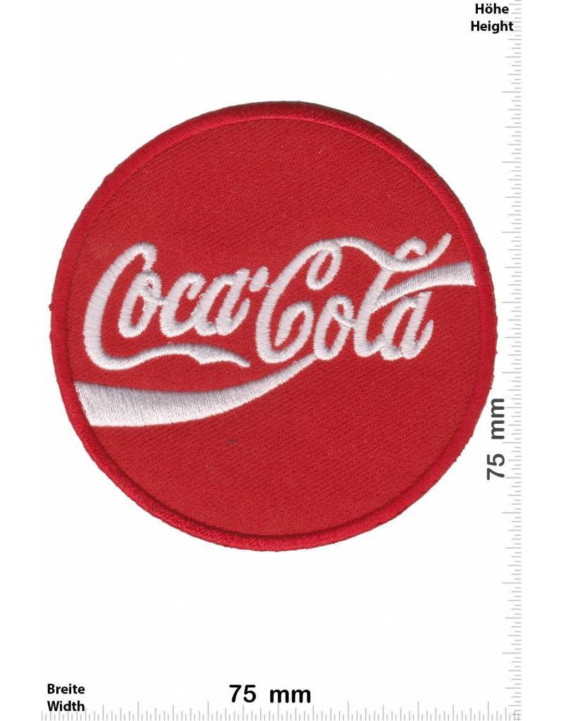 coca cola coca cola round aufn her shop patch shop gr ter weltweit patch aufn her. Black Bedroom Furniture Sets. Home Design Ideas
