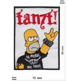 Simpson Homer Simpson - tanzt!