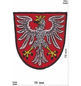 Deutschland, Germany Frankfurt  - Hessen - Wappen mit Adler