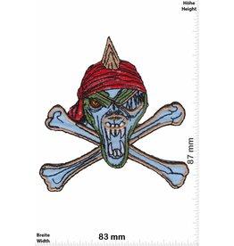 Totenkopf blue Priate skull