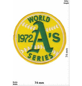 Baseball 1972 World Series - Baseball A's - USA