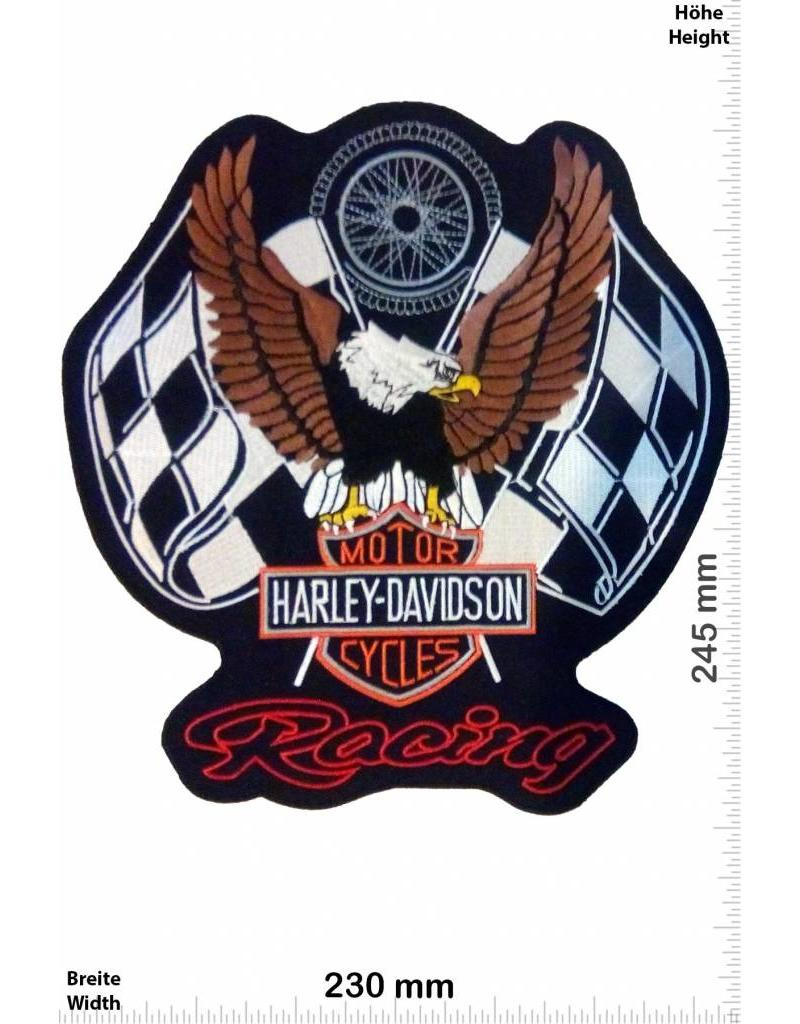 harley davidson harley davidson motor racing 24 cm. Black Bedroom Furniture Sets. Home Design Ideas