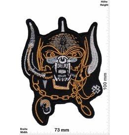 Motörhead Motörhead - Skull - gold