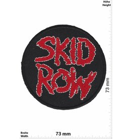 Skid Row  Skid Row - round - Hard-Rock-/Hair-Metal-Band