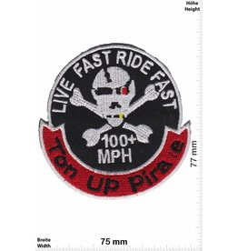 Cafe Racer Ton Up Pirate - 100+ MPH - Live Fast Ride Fast