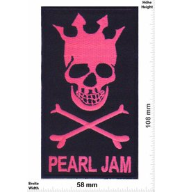 Pearl Jam Pearl Jam - Skrull - neonpink