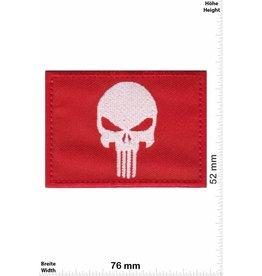 Punisher Punisher - rot weiss -Flag