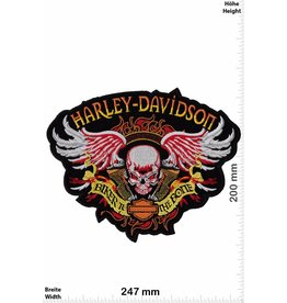 Harley Davidson Harley Davidson - Biker to the Bone - 24 cm