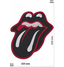 Rolling Stones Rolling Stones - Zunge - schwarz - 25 cm