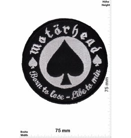 Motörhead Motörhead - born to lose - live to win