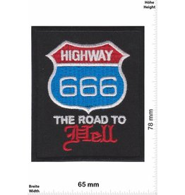 USA Highway 666 - The Road to Hell