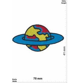 Raumfahrt Weltkugel -Space - blue