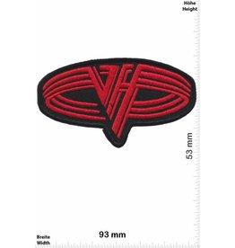 Van Halen Van Halen - red oval -Hard-Rock-Band