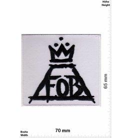 Fall Out Boy Fall Out Boy - Logo white- Alternative-Rockband