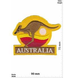 Australien, Australia Australia - Känguru - gelb