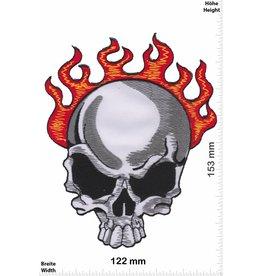 Totenkopf Totenkopf - Skull - Flammen - big