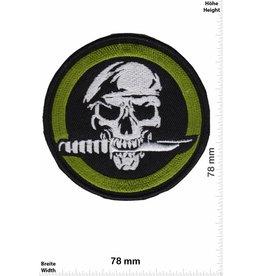Army Totenkopf - rund