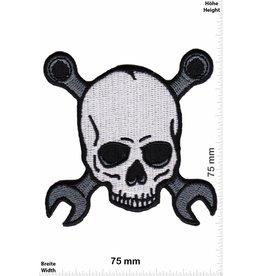 Totenkopf Totenkopf - Skull - mit Werkzeug