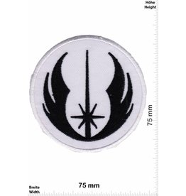 Star Wars Starwars - Jedi Logo Corporation - weiss schwarz - CREW Uniform