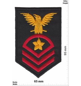 Sergant US Navy Chief Petty Officer - 3 Streifen - Adler