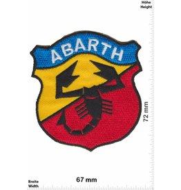 Abarth Abarth - blau gelb rot