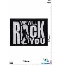 Rock n Roll We will rock you - silver