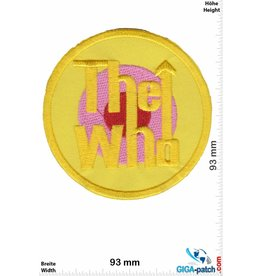The Who The Who - rund - yellow