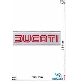 Ducati Ducati - weiss rot