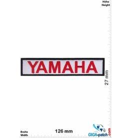 Yamaha Yamaha - rot weiss
