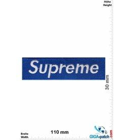 Supreme Supreme blau / silber
