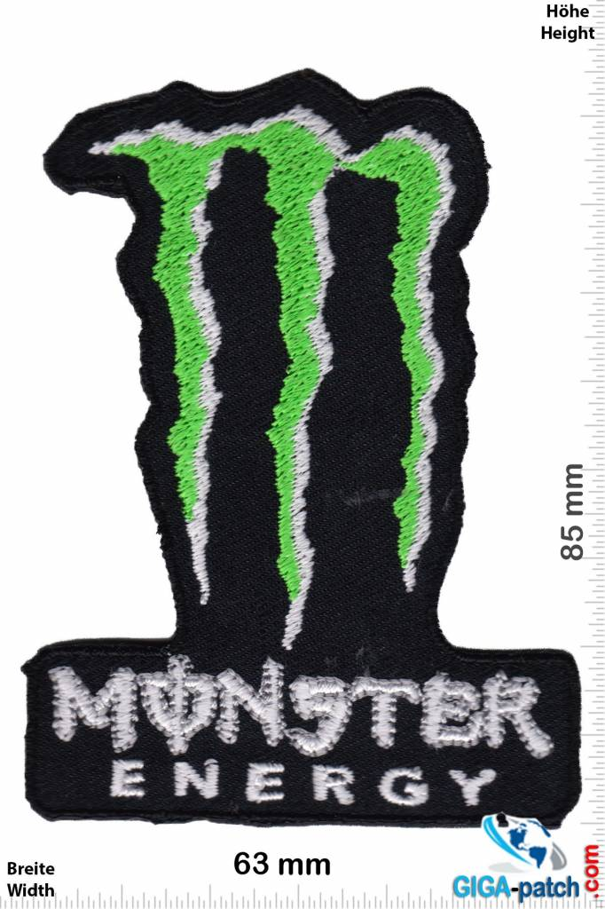 monster patch back patches patch keychains stickers. Black Bedroom Furniture Sets. Home Design Ideas