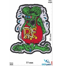 Rat Fink Rat Fink - black border
